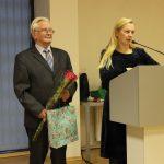 Endokrinologijos slaugytoja R. Žilinskienė ir A. Sodonis