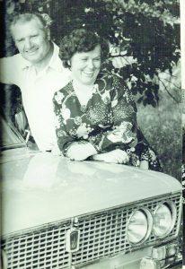 1976 m. Zenonas su žmona Veronika