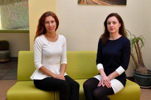 LŽŪKT Elektrėnų savivaldybės biuro konsultantės Greta Sinkevičienė ir Jolita Štrimaitė