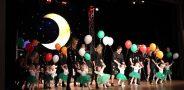 """Mažiausių """"YAMAHA"""" muzikos klasės lankytojų pasirodymas"""