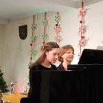 Fausta Hopenaitė su mama Rasa