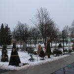 Penktąjį kartą Elektrėnų aikštė papuošta Kalėdų eglučių parku
