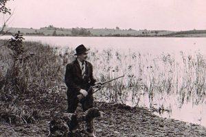 Medžiotojas prie Puikino ežero