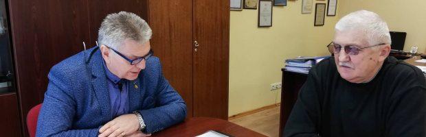 Seniūno A. Šalkausko ir J. Tomkevičiaus diskusija