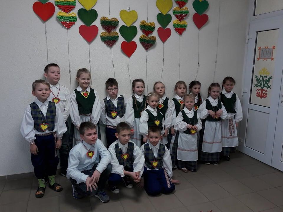 Vasario 16- oji Pastrėvio mokykloje