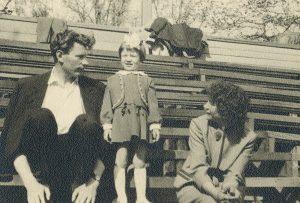 Silva Lengvinienė su tėveliais