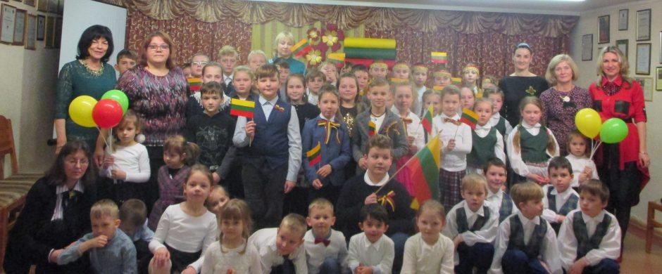 Švenčiame Lietuvos nepriklausomybės atkūrimą