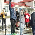 I vieta - elektrėniškis Jonas Baublys, III vieta - abromiškietis Nedas Pliskauskas