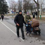 Bėgime dalyvavo visa Rudzinskų šeima, o vežimėlyje gulinti Julijana buvo jauniausia varžybų dalyvė
