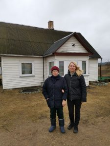 Birutė Misiūnienė su mama Gene Makūniene