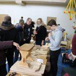 Vienos paklausiausių mugės prekių – medžio gaminiai už prieinamą kainą