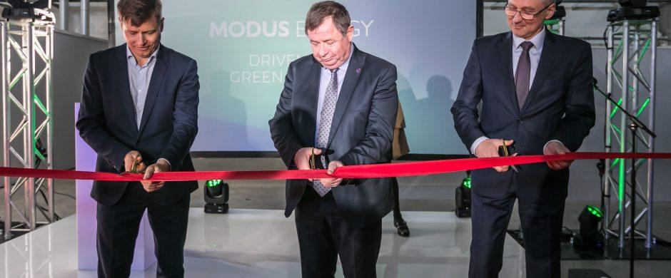 """Prie Vievio pradėjo veikti """"Modus Energy"""" bioskaidžių medžiagų paruošimo linija"""