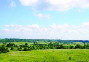 Bajorų kaimo slėnis