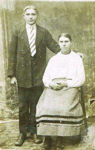 Juozas Mikalauskas su žmona Marijona Jančiauskaite