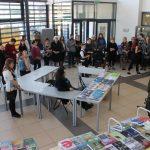 Tradiciškai knygų mugė vyko bibliotekos ir kultūros centro fojė