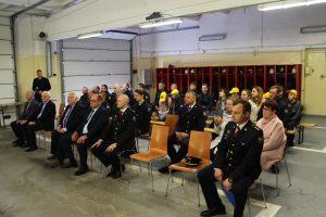 Ugniagesių gelbėtojų bendruomenė ir svečiai