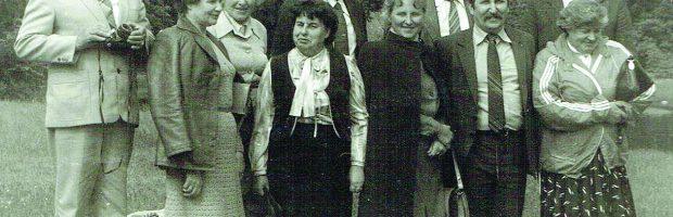 Po Korespondentų mokyklos paskaitų Trakuose. O. G. Maleravičienė pirma iš dešinės.