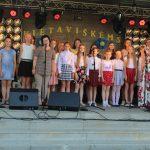 Kietaviškiečius sveikina Kietaviškių pagrindinės mokyklos bendruomenė
