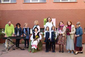 """Festivalio """"Poezijos pavasaris 2019"""" dalyviai ir organizatoriai"""