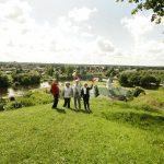 Pasiekta Ukmergės piliakalnio viršūnė