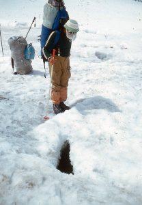 1987 m. Prie aprašytojo ledo plyšio