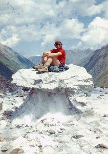 Ant gamtos sukurtos ledo skulptūros