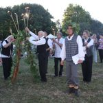 """Instrumentinės grupės """"Konkordas"""" nariai uždegė Joninių aukurą"""