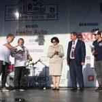 Seimo narė Laimutė Matkevičienė ir meras Kęstutis Vaitukaitis apdovanojo miesto greičio ruožo nugalėtojus