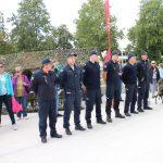 Rikiuotėje Elektrėnų savivaldybės ugniagesiai gelbėtojai