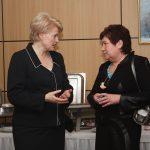 Rinkimų metu 2008 metais asmeninis pokalbis...apie būsimus Prezidentės darbus