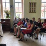Semeliškių gimnazijos 64-oji (V-oji gimnazijos) abiturientų laida su klasės vadove Ona Bukiniene