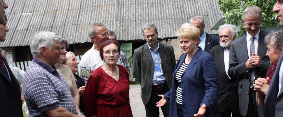 Dalios Grybauskaitės kelias pas žmones: pamokos, paslaptys, iniciatyvos ir nuoširdūs pokalbiai