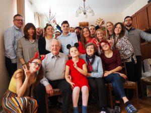 Visa didelė ir draugiška Stepankevičių šeima
