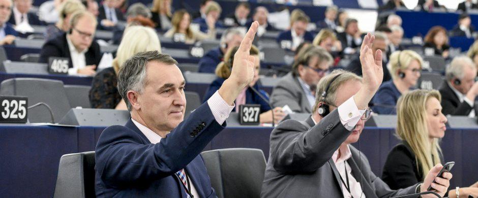 Interviu su europarlamentaru Petru Auštrevičiumi