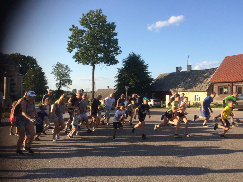 Bėgime – rekordinis skaičius dalyvių