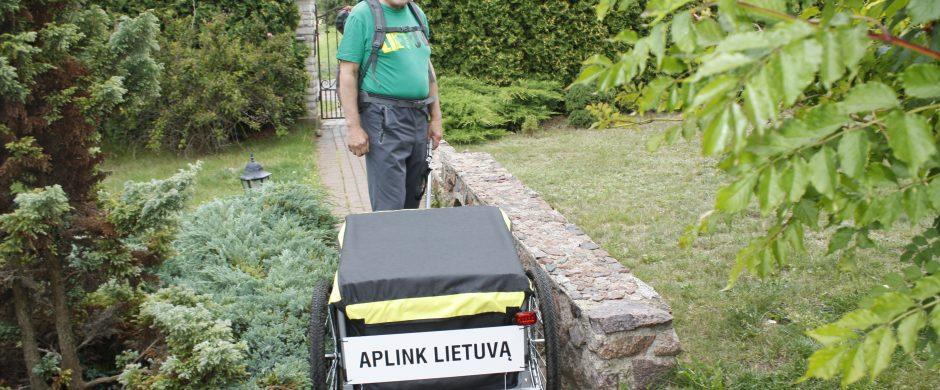 Rimantas Urbanavičius be kelionių negali: jei ne į kalnus, tai aplink Lietuvą