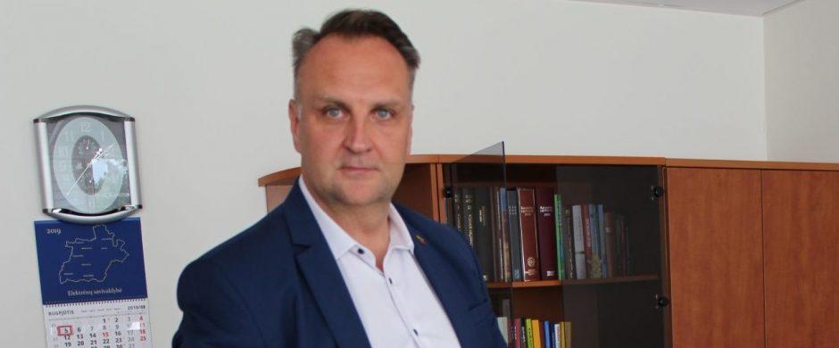 Administracijos direktorius G. Ratkevičius:  stengsiuosi surasti tarpusavio supratimą tarp gyventojų ir tarnautojų