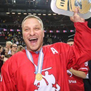 Iškovotas auksas su Lietuvos nacionaline komanda