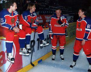 Su komandos draugais Rusijoje