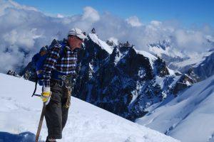 Valentinas Bitinas į Monblano kalną Šveicarijoje kopė prieš 3 metus