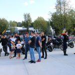 Šventėje buvo iškilmingai išlydėtos 6 motociklininkų komandos