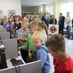 Didelio vaikų susidomėjimo sulaukė kompiuteriai