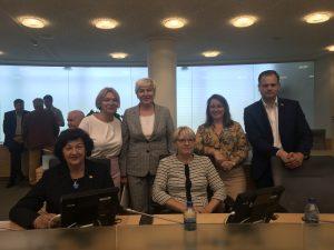 Seimo narė Laimutė Matkevičienė su kolegomis