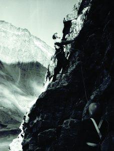 Užsiėmimai uolose. R. Augūno nuotr.