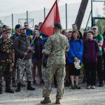 Prieš žygį dalyviai išklausė organizatoriaus Vyto Šareikos apmokymus. K. Prušinsko nuotr.