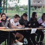 Registracijoje talkino Elektrėnų jaunimo centro nariai. K. Prušinsko nuotr.