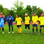 Jaunimo ir veteranų futbolo komandos išsirikiavo varžyboms