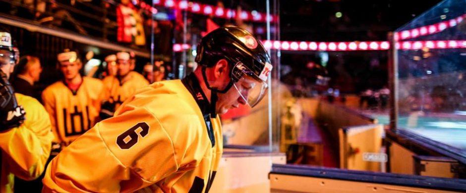 Ilgametis Lietuvos Nacionalinės ledo ritulio komandos žaidėjas Artūras Katulis: žaisiu tol, kol būsiu reikalingas ir naudingas komandai