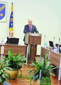 Šeimos stiprinimo prioritetus savivaldybėje pristatė tarybos narys Arūnas Kulboka