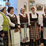 """Primirštas lietuvių liaudies dainas susirinkusiems priminė etnografinis Pastrėvio ansamblis """"Vuolasta"""""""